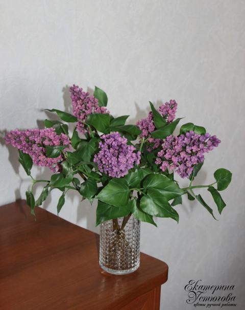 Цветы ручной работы из полимерной глины Екатерины Устюговой