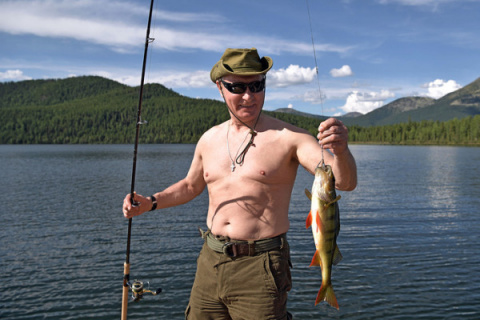 Отдыхай, как Путин: на Запад…