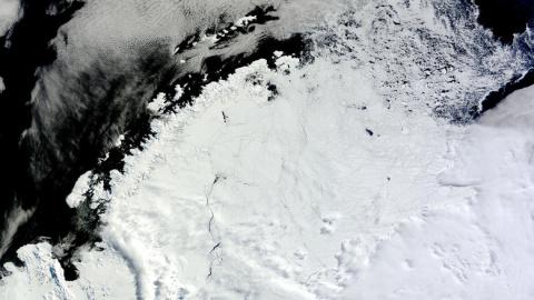В Антарктиде обнаружили зага…