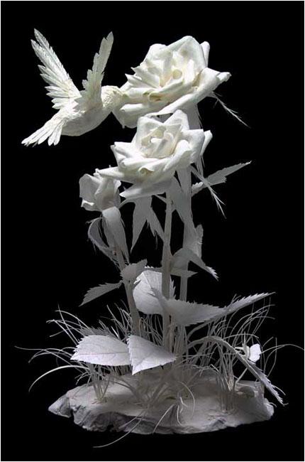 Бумажные скульптуры Аллена и Пэтти Экман.