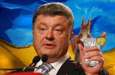 Саакашвили рассказал, сколько пьёт Порошенко