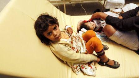 Эпидемия холеры распространя…
