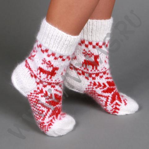 Ремонт шерстяных носков