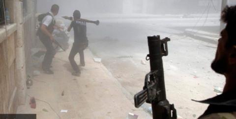 Сирия на руинах города Даръа…