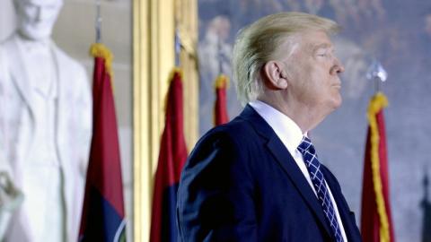 Трамп дал оценку первым 100 дням пребывания у власти