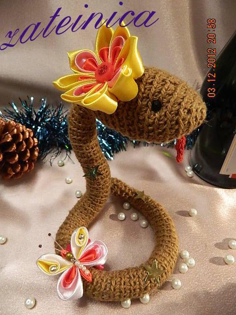 Моя первая партия змеек