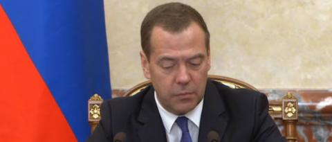 Медведев: инфляция в России …