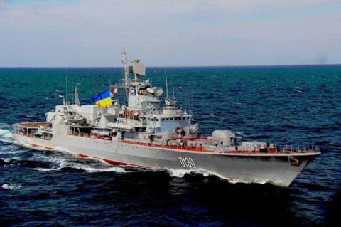 Военные корабли НАТО вошли в…
