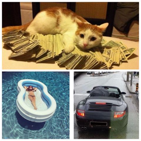 Люди, у которых слишком много денег