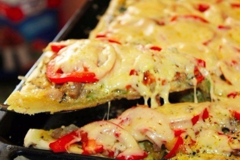 Пицца, которая сведет с ума …