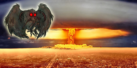 Человек-Мотылек из Чикаго — предвестник ядерной атаки?
