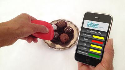 TellSpec просканирует еду и …