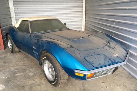 Редчайший Chevrolet Corvette 45 лет простоял в гараже