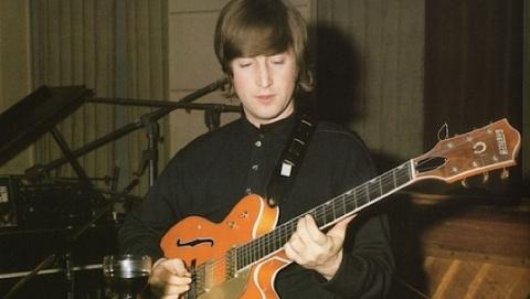 """John Lennon's """"Paperback Writer"""" Guitar Going Up for Auction"""
