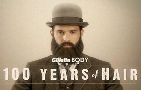 Gillette рассказал историю бороды