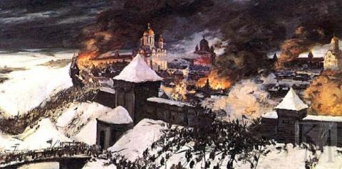 Татаро-монгольское нашествие в истории Русского государства