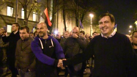 Саакашвили: при Порошенко Ук…