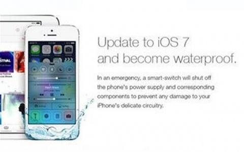 Поверив рекламе британцы утопили свои iPhone