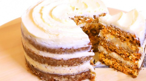 Обалденный морковный торт starbucks