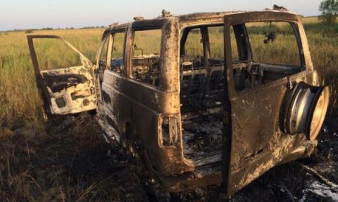 Пожар в Восточном Крыму спро…