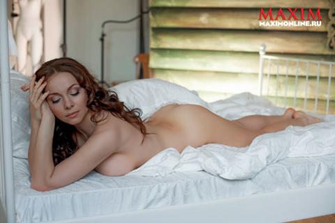 Екатерина Гусева(Yekaterina Guseva) в фотосессии Юрия Кольцова(Yuriy Koltsov) для журнала Maxim (май 2011)