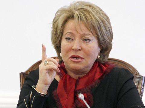 Матвиенко обсудила ракетный удар США по Сирии в Саудовской Аравии