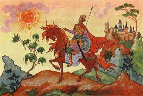 Царь Солнце, как бог оракул