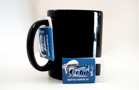 Американцы объединяют жвачку с кофе