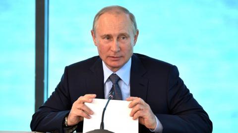 Путин поддержал идею расширить взаимодействие русскоговорящей молодежи