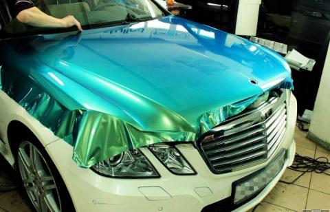 Автовинил, или Как радикально улучшить внешний вид машины, не перекрашивая ее
