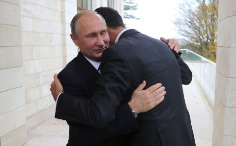 Глава России встречает лидер…