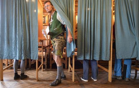 """Конец """"большой коалиции"""" и крайне правые в Бундестаге"""
