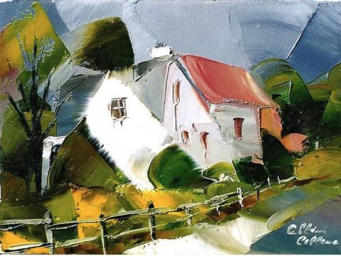 Канадский художник Albini Le…