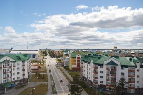 Белоярский - маленький город…