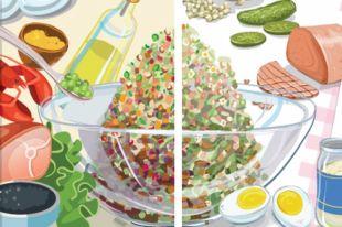 Эволюция салата: каким был оригинальный рецепт оливье и каким стал