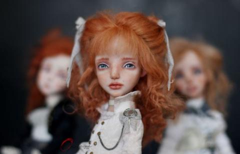 Мир внутреннего мира кукол Елены Оплаканской