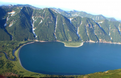 Озеро Калыгирь скрывает подв…