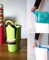 Идея вторичного использования пакетов из супермаркета