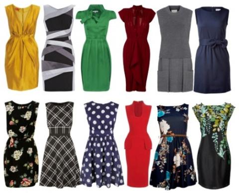 Юбки и платья: фасоны, силуэ…