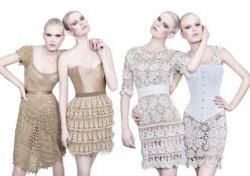 Вязаные летние платья