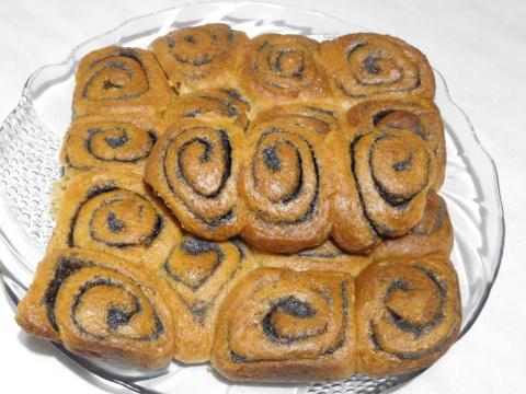 Творожные булочки с маком- П…