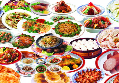 блюда для встречи китайского Нового года