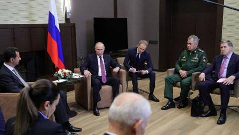 Россия должна помочь восстановить мирную жизнь в Сирии, заявили в Госдуме