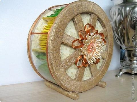 Чайное колесо +шаблон