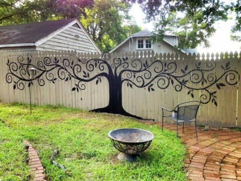 Городим красоту: как нестандартно оформить забор на даче