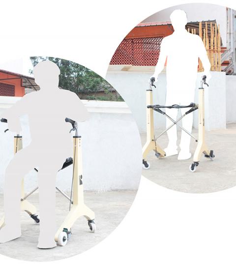 Ходунки + коляска для инвалидов