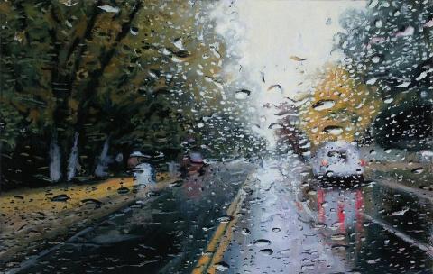 Управление автомобилем в дож…