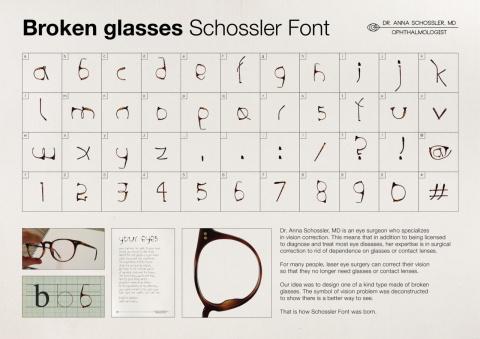 Поляки придумали шрифт для окулиста