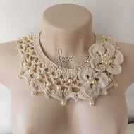 Вязаное ожерелье и многое другое