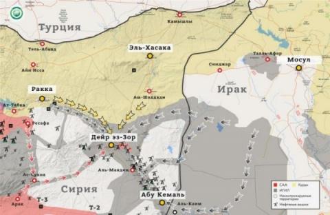 Сирия рискует потерять Дейр …